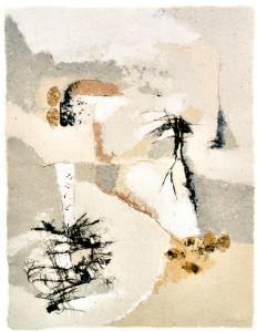 Heimatwinter, 2001, 90x70 cm