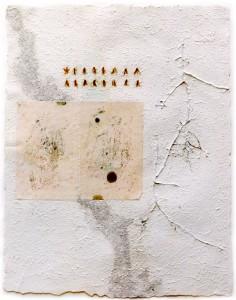 Spuren II, 1999, 100x70 cm